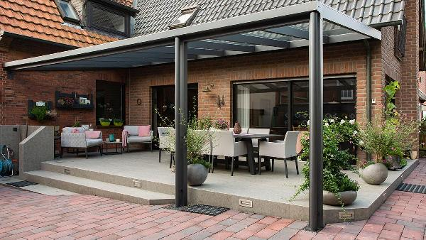 Referenz | Wallkötter GmbH | Terrassendach | Steinfurt